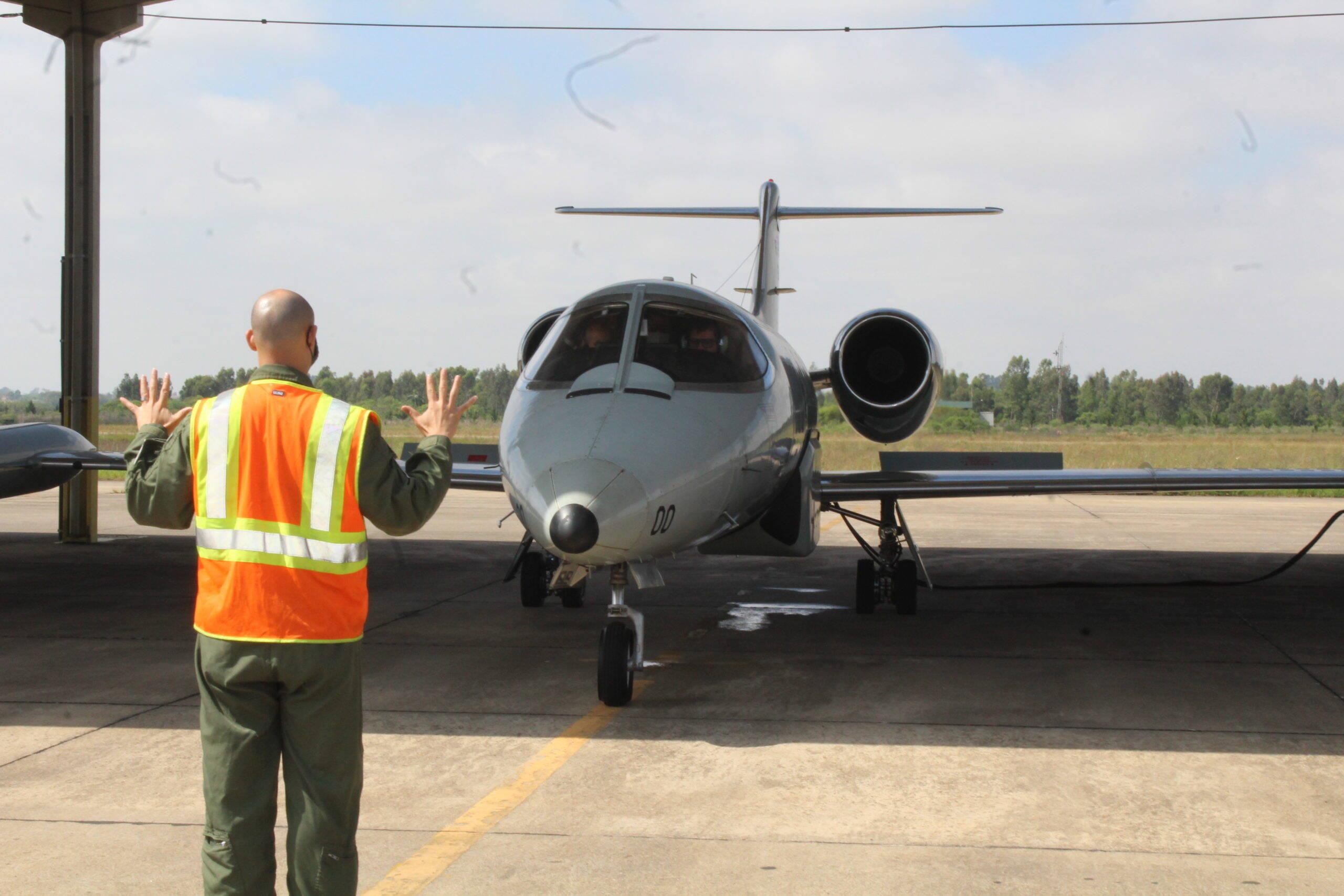 Learjet R-35A da FAB realiza sua última missão operacional