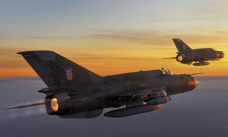 Croácia estuda F-16, Rafale e Gripen para substituir seus MiG-21