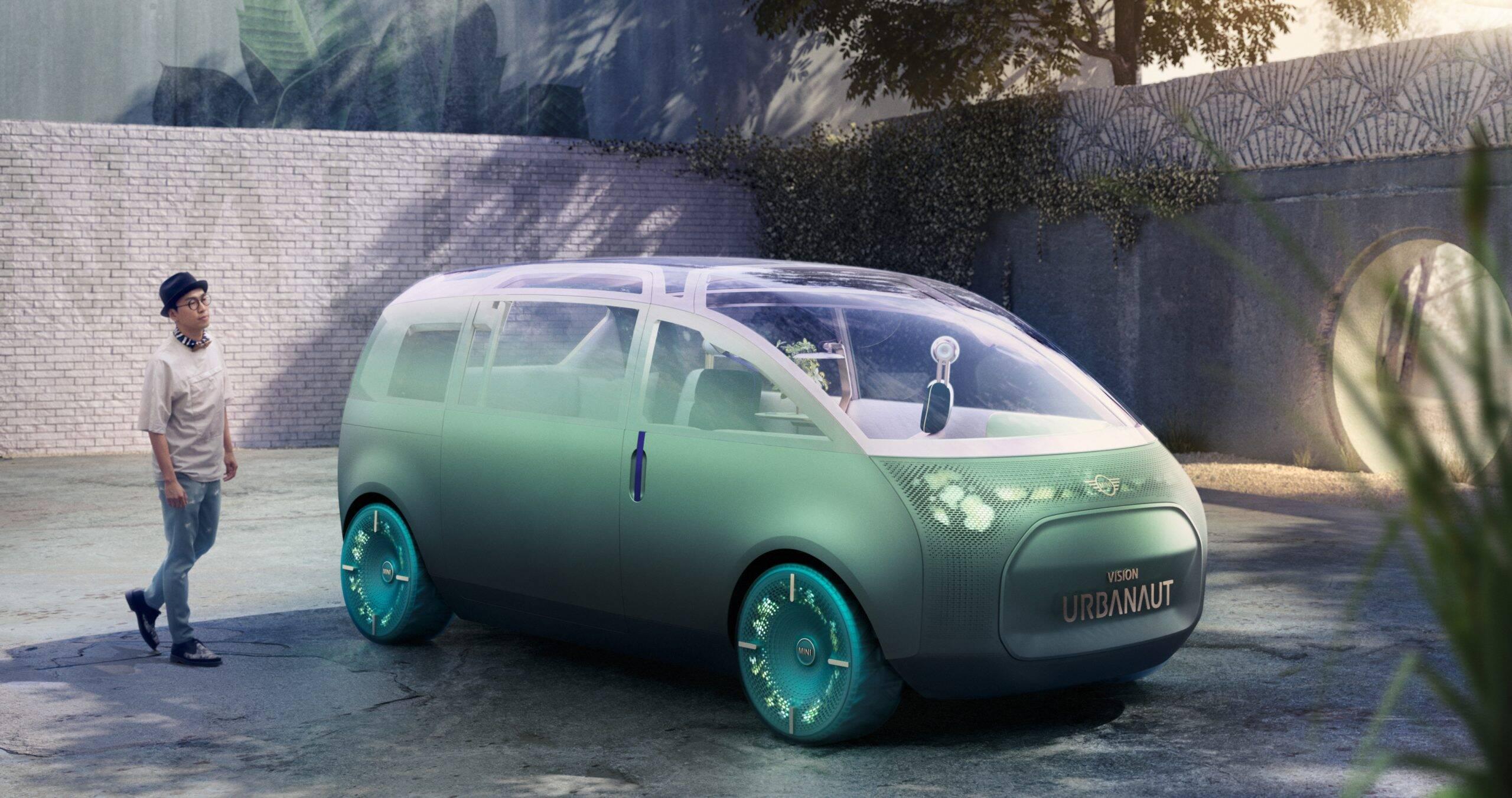 Mini Vision Urbanaut mostra como serão as minivans do futuro