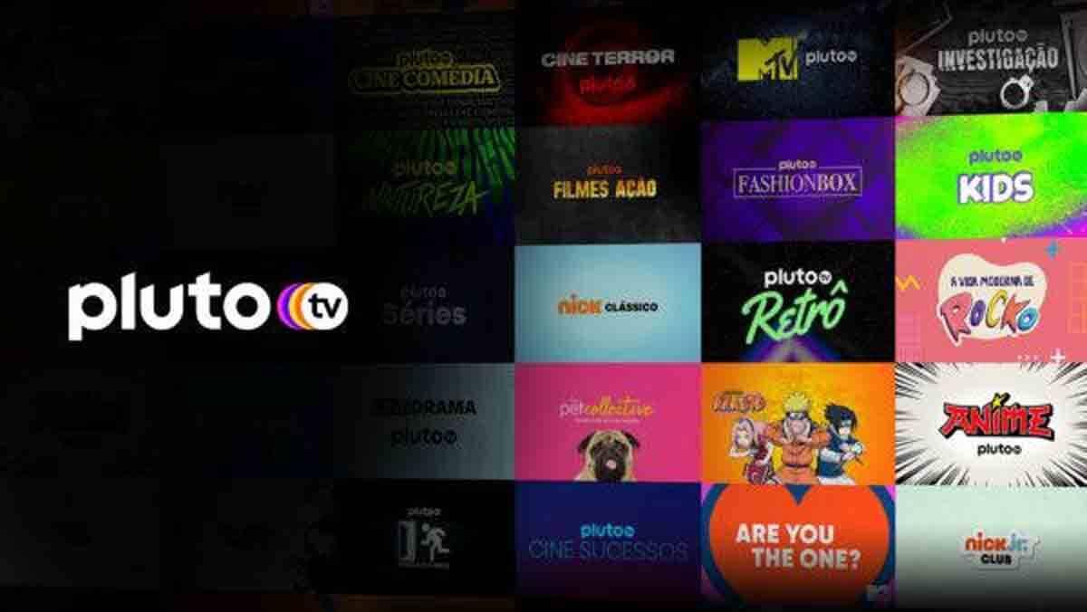Pluto TV já está no ar, no Brasil. Foto: Reprodução