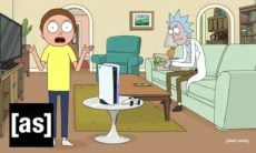 'Rick e Morty' agora vendem PlayStation 5 para a Sony. Foto: Reprodução Youtube