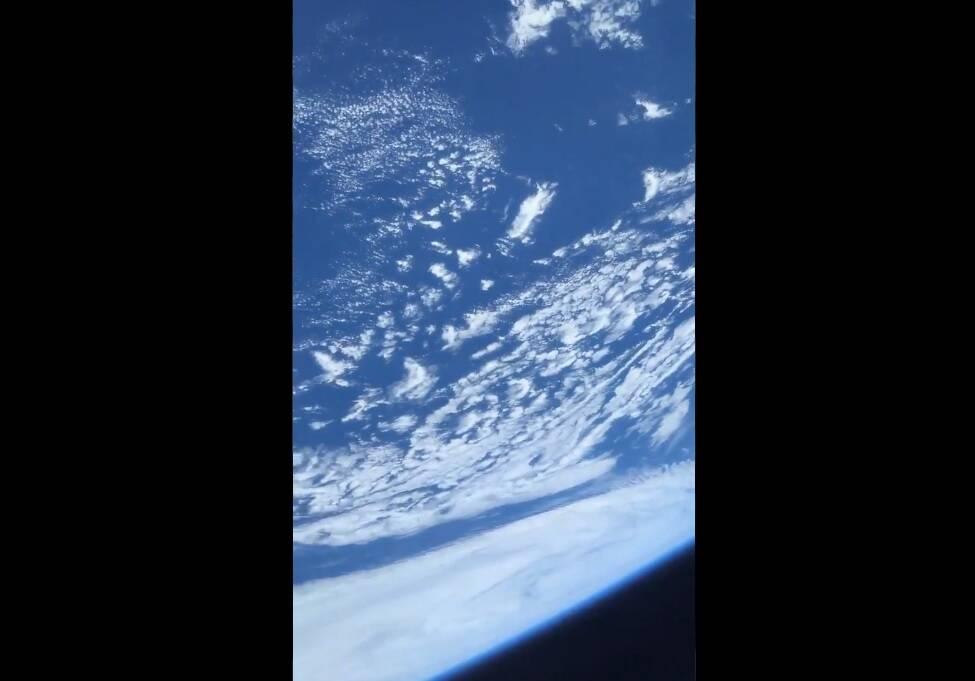 Astronauta na ISS compartilha vídeo da Terra vista do espaço