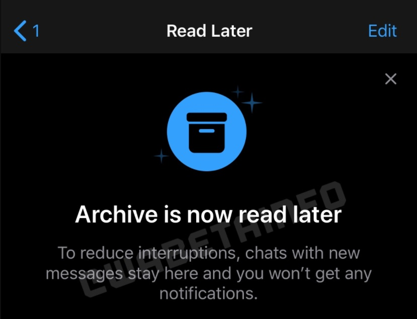 "WhatsApp testa recurso ""ler mais tarde"""