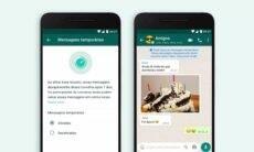 WhatsApp lança mensagens temporárias que somem em sete dias