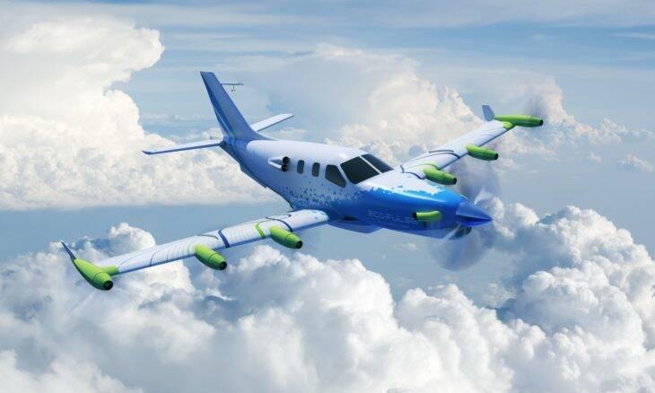 Avião híbrido EcoPulse avança da fase preliminar de projeto