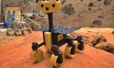 ESA disponibiliza projeto da versão caseira de rover marciano
