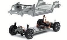 Grupo Hyundai mostra plataforma E-GMP para carros elétricos