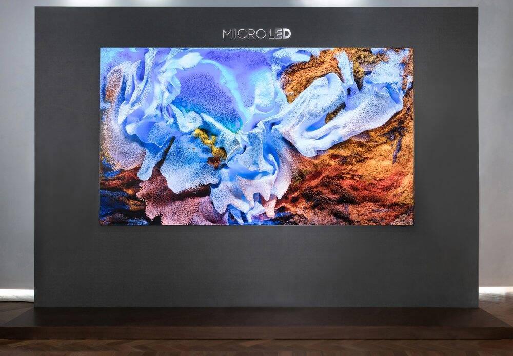 "TV Samsung MicroLED 110"""