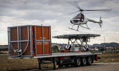 Autônomo, helicóptero Airbus VSR700 já consegue decolar e pousar em plataforma móvel