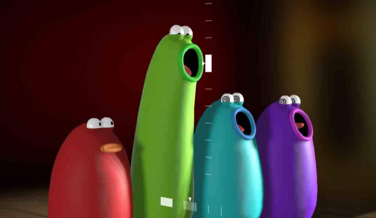 Blob Opera: Ferramenta do Google permite que qualquer pessoa crie sua própria ópera. Foto: Reprodução de tela