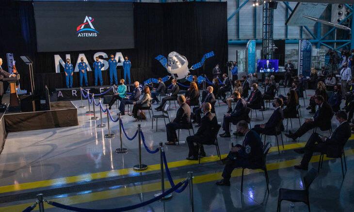 Nasa divulga a lista dos próximos astronautas escalados para ir à Lua
