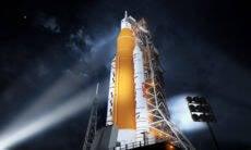 Nasa encerra teste inicial de foguete que será usado em viagem à Lua