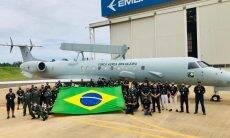 FAB recebe segundo Embraer E-99 modernizado