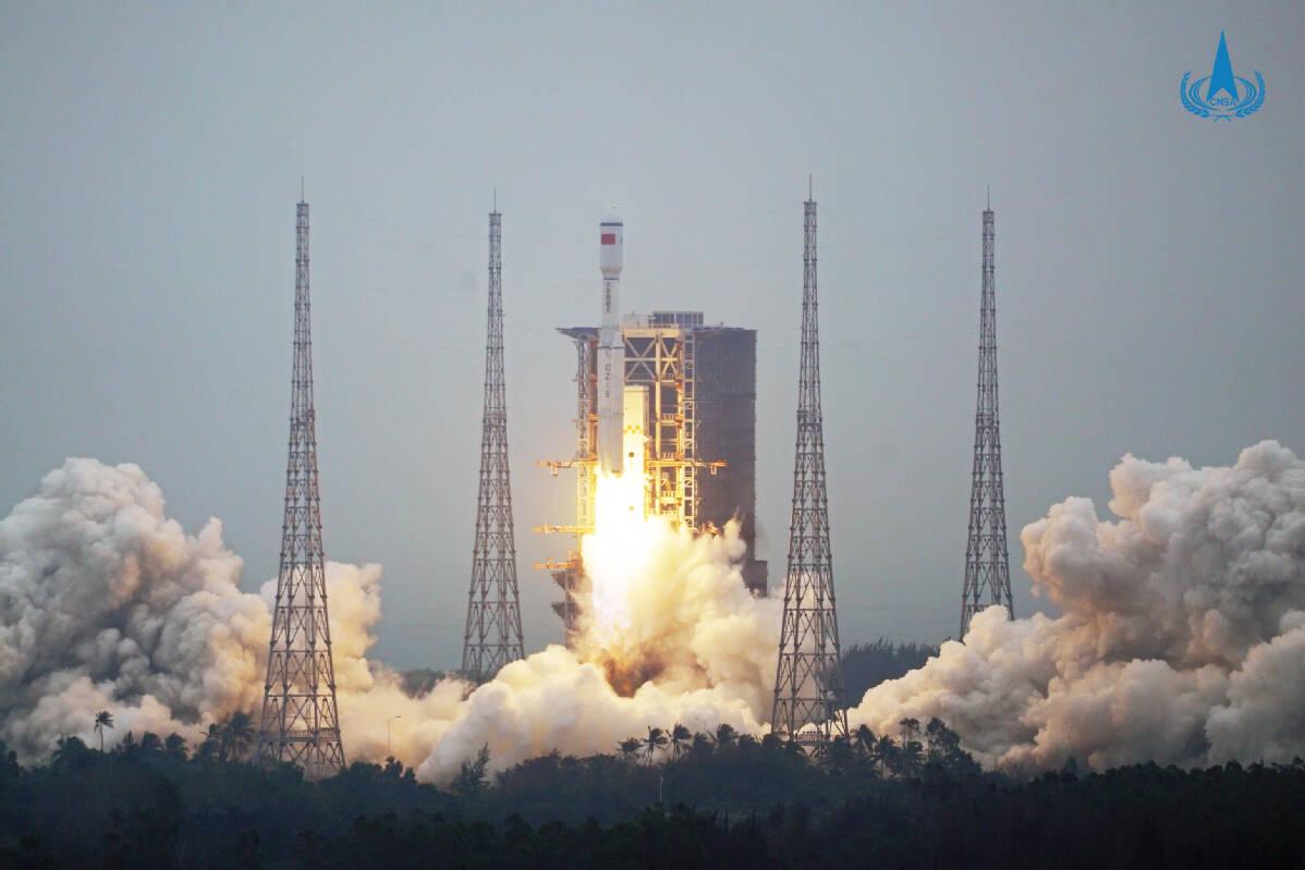 China lança novo foguete Longa Marcha 8