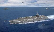 França inicia estudos para construção de novo porta-aviões nuclear