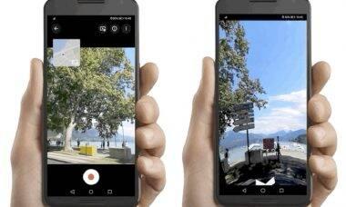 Google permite agora criar fotos para o Street View com o smartphone
