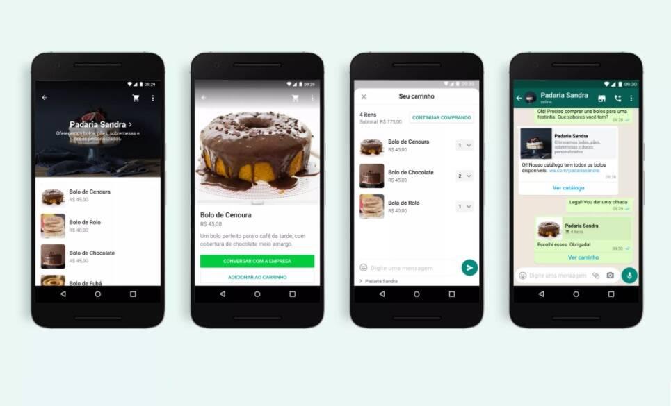 WhatsApp lança recurso carrinho de compras