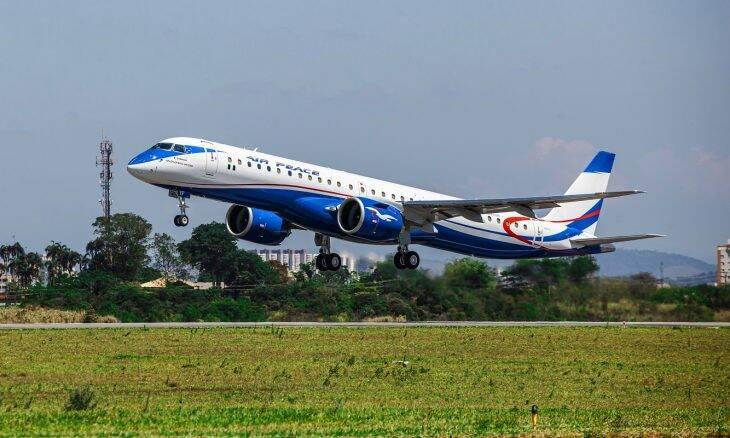 Air Peace recebe o primeiro Embraer E195-E2 do continente africano