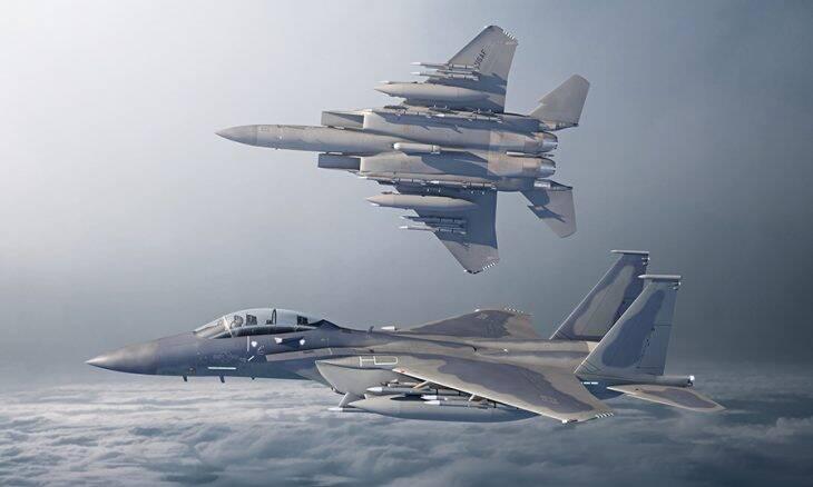 EUA autoriza que Boeing ofereça caças F-15 para a Índia
