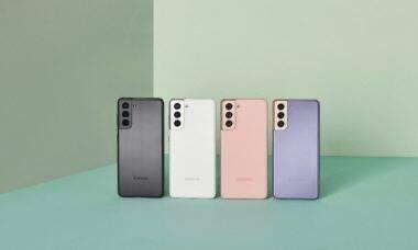 Samsung revela novos smartphones Galaxy S21