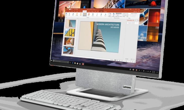CES 2021: Novo all-in-one da Lenovo traz tela 4K giratória