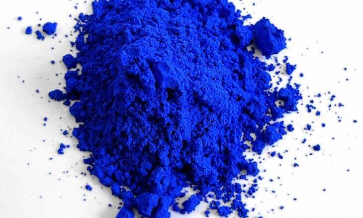 Primeiro pigmento azul descoberto nos últimos 200 anos é vendido a mais de R$ 1 mil o tubinho. Foto: Wikipedia