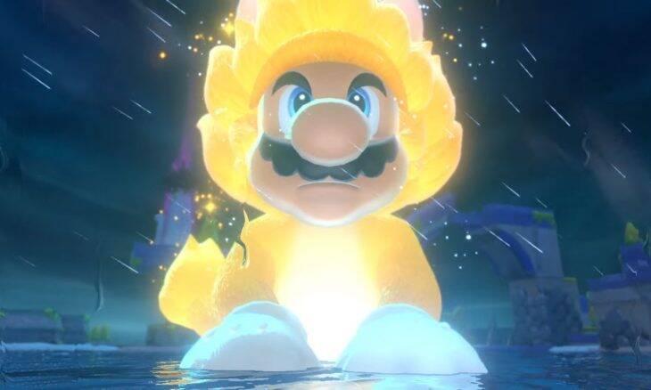 Super Mario 3D World + Bowser's Fury terá Cat Mario e Bowser em tamanho gigante