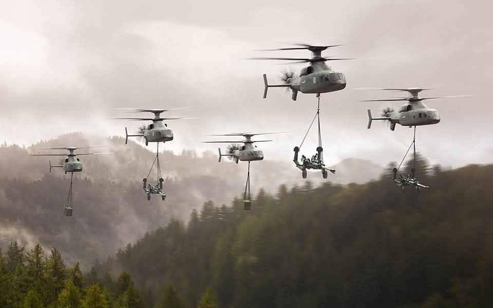 Lockheed Martin e Boeing apresentam helicóptero de assalto avançado Defiant X. Foto: Divulgação