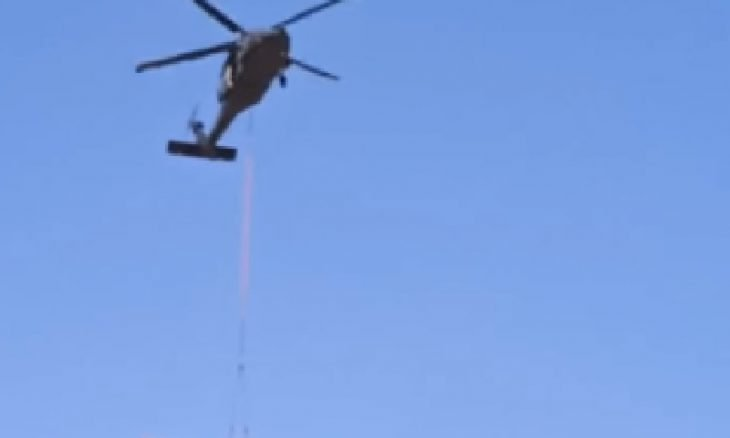 """Força Aérea do Chile divulga vídeo de helicóptero """"rebocando"""" avião"""