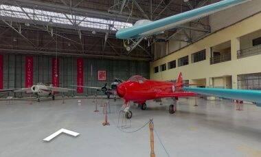 Museu da Força Aérea Argentina oferece tour virtual em 360°