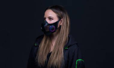 CES 2021: Protótipo de máscara da Razer traz amplificador de voz
