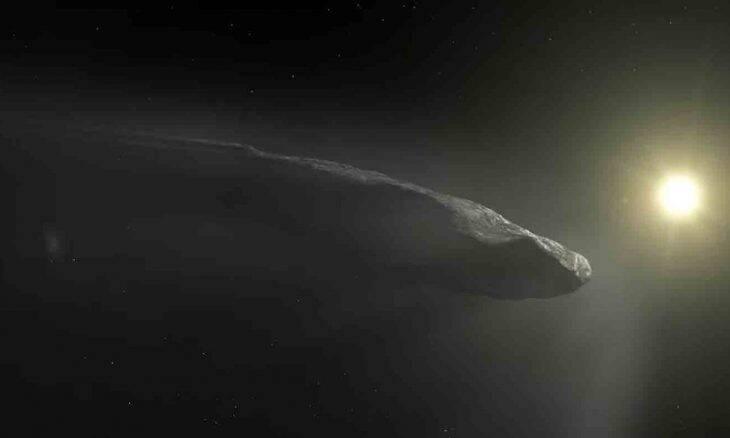 """Professor de Harvard diz que """"tecnologia espacial descartada por ALIENS"""" passou pela Terra em 2017. Foto: Reprodução Youtube"""