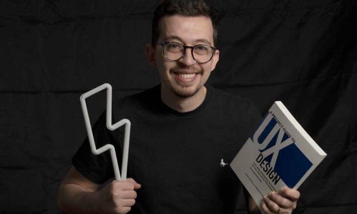 Influenciador e designer de produtos Apparicio Bueno se torna referência internacional falando de UX. Foto: Divulgação
