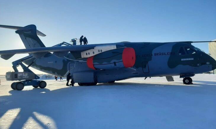 Embraer KC-390 Millennium realiza testes no frio extremo do Alasca