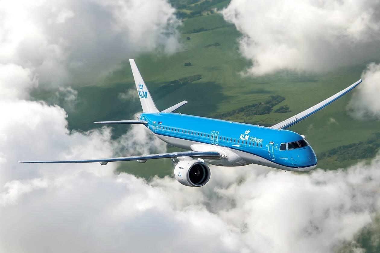 Embraer entrega primeiro E195-E2 para a KLM