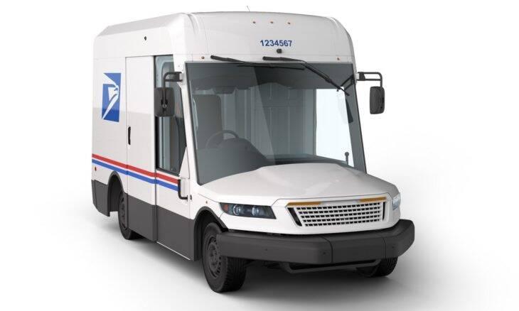 Conheça o novo furgão de entrega dos correios dos EUA