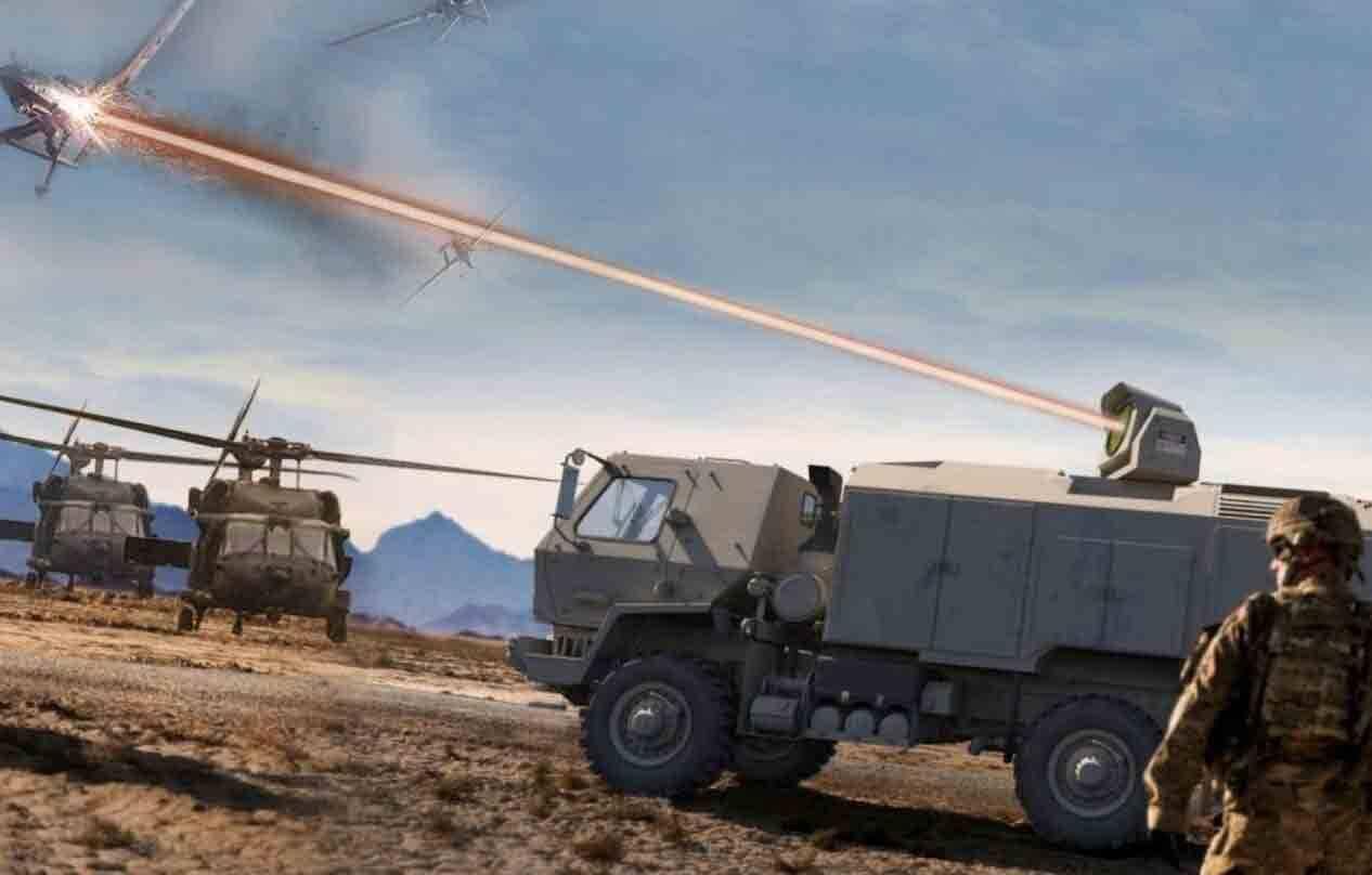 O Exército dos EUA está construindo a arma laser mais poderosa do mundo. Foto: Divulgação