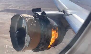 Boeing recomenda manter 128 jatos 777 no solo após incidente com voo da United