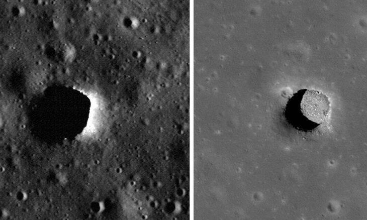Europa planeja missão para explorar cavernas lunares