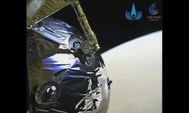 Sonda chinesa Tianwen-1 envia à Terra imagens da órbita de Marte