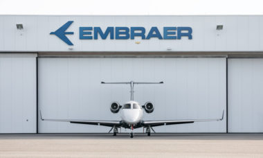 Embraer Phenom 300 é o jato executivo mais vendido do mundo pelo 9º ano consecutivo
