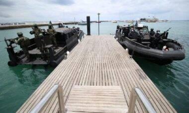 Marinha apresenta novas lanchas blindadas de patrulha