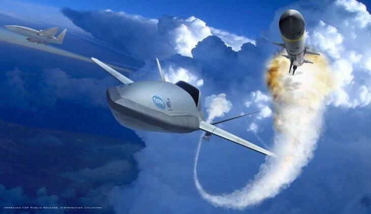 Northrop Grumman vai desenvolver VANT de combate aéreo