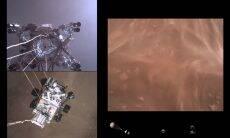 Nasa divulga vídeo do pouso do Perseverance em Marte