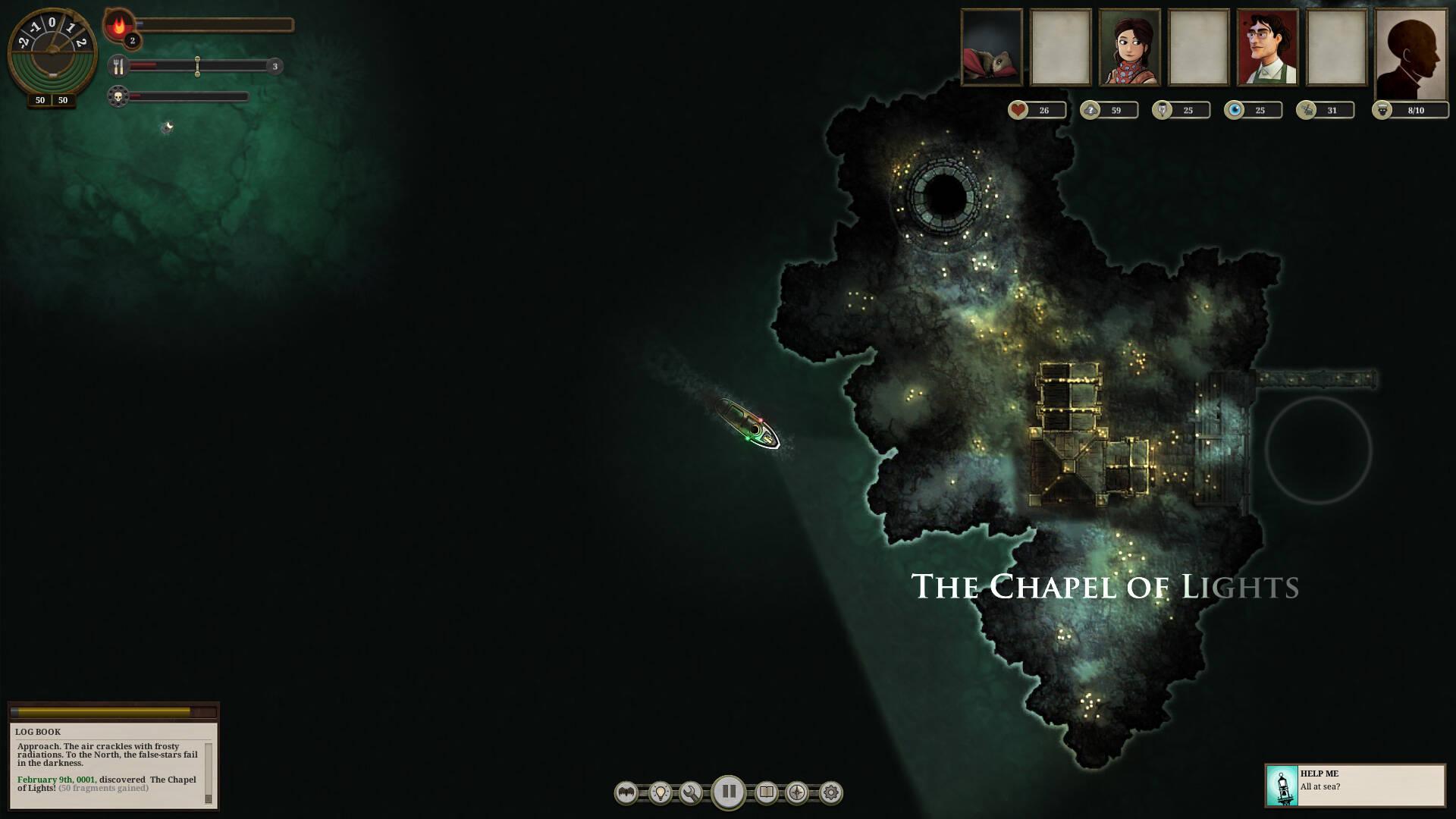 Sunless Sea está de graça na Epic Games Store