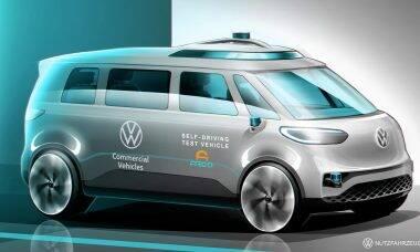 Nova Kombi servirá de base para o 1º carro 100% autônomo da Volkswagen