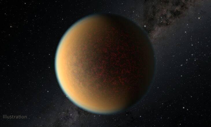 Nasa flagra planeta que criou nova atmosfera com atividade vulcânica