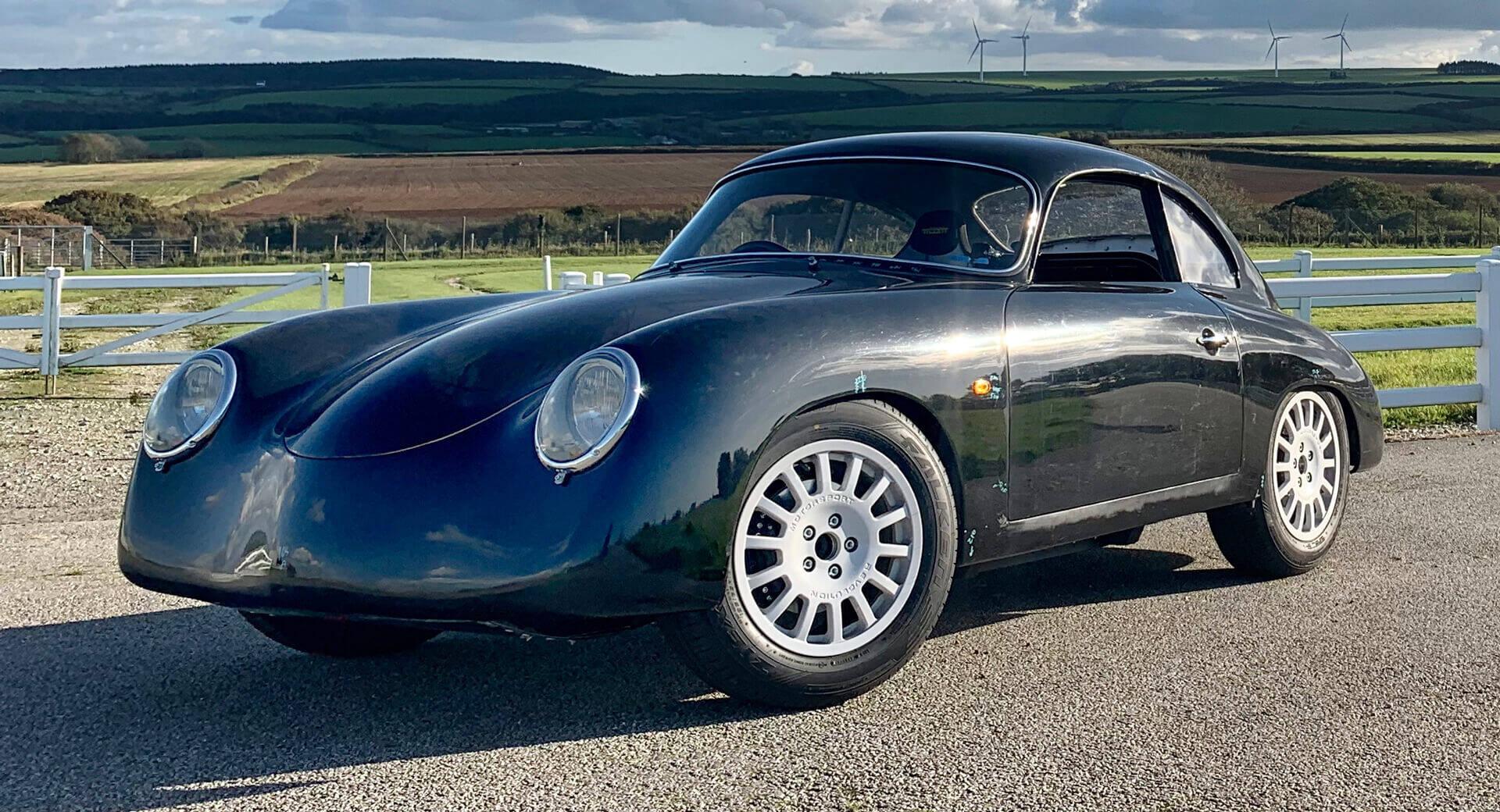 Empresa britânica revela carro elétrico com cara de Porsche dos anos 1950