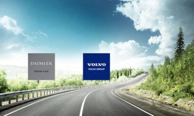 Daimler e Volvo concluem criação de joint venture de células de combustível