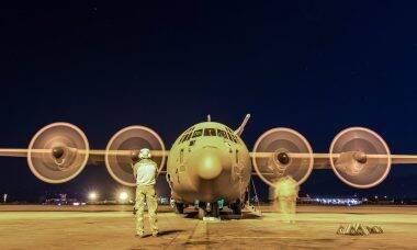 Reino Unido vai retirar seus C-130 Hercules de serviço até 2023